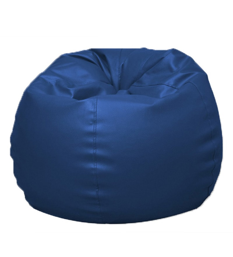 Pebbleyard Kids Classic Blue Bean Bag Cover Without Beans