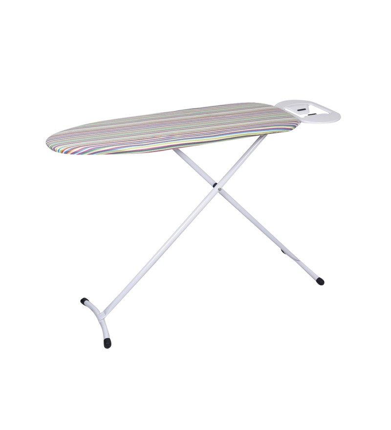 Peng Essentials Multistripes Steel Multicolour Ironing Board