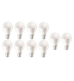Philips B22 17-Watt LED Bulb- Pack Of 10
