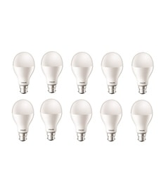 Philips B22 20-Watt LED Bulb-Pack Of 10