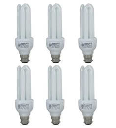 Philips White 23W CFL Light - Set Of 6