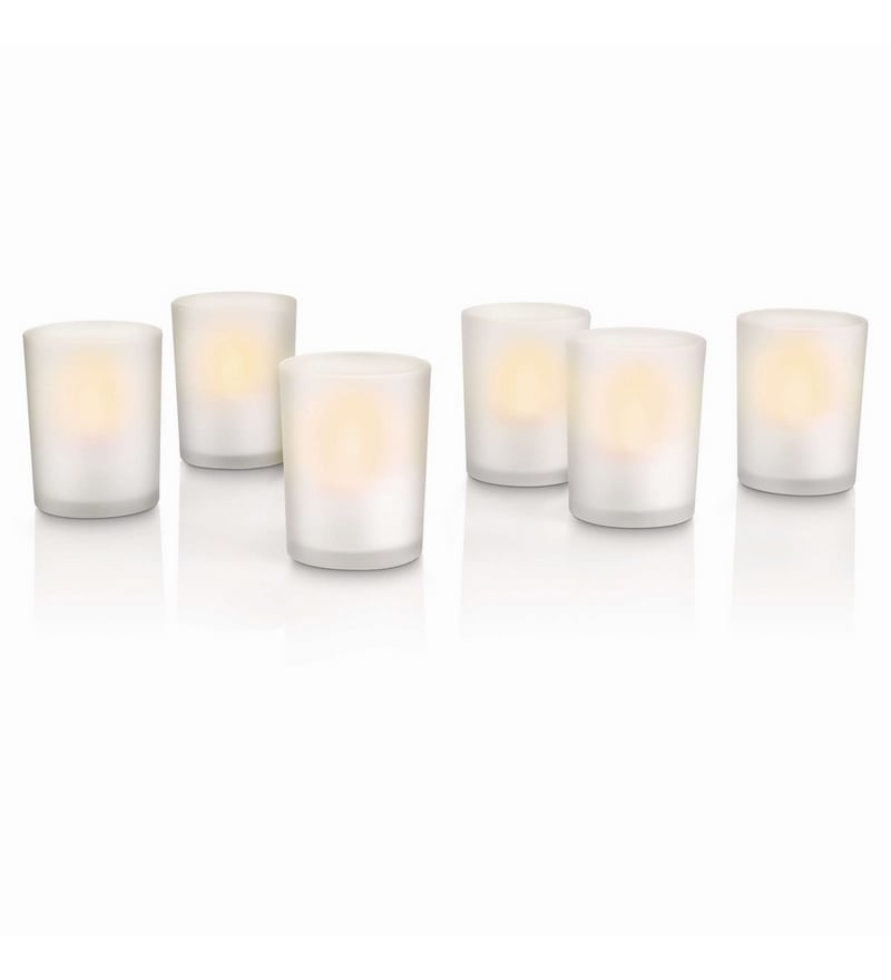 Accents LED Tealight - Set of Six by Philips