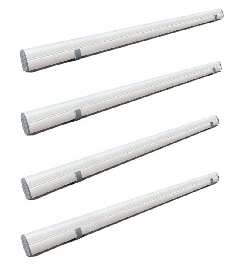 Philips Astra Line Cool Day Light 20-Watt LED Battens - Set of 4
