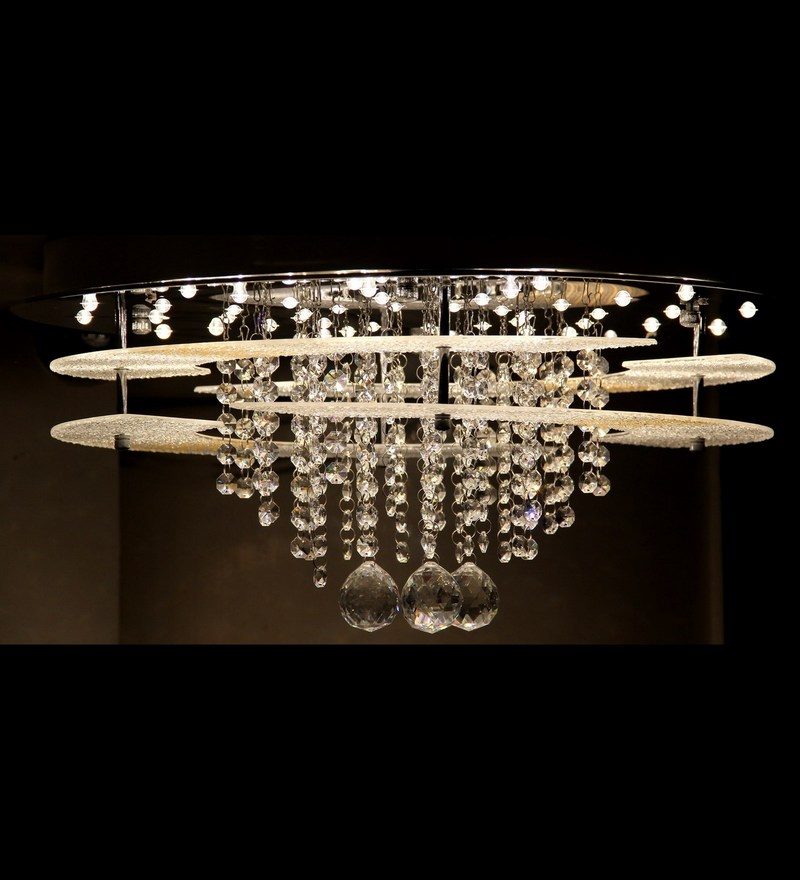Buy Transparent Glass Chandelier By Philips Online