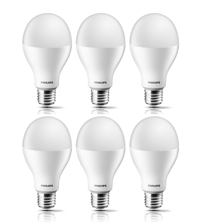 Philips Golden Yellow 12.5 W LED Bulb - Set of 6