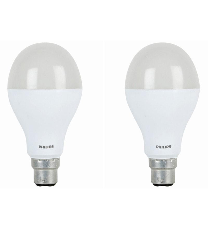 Philips White 14W LED Bulb - Set of 2