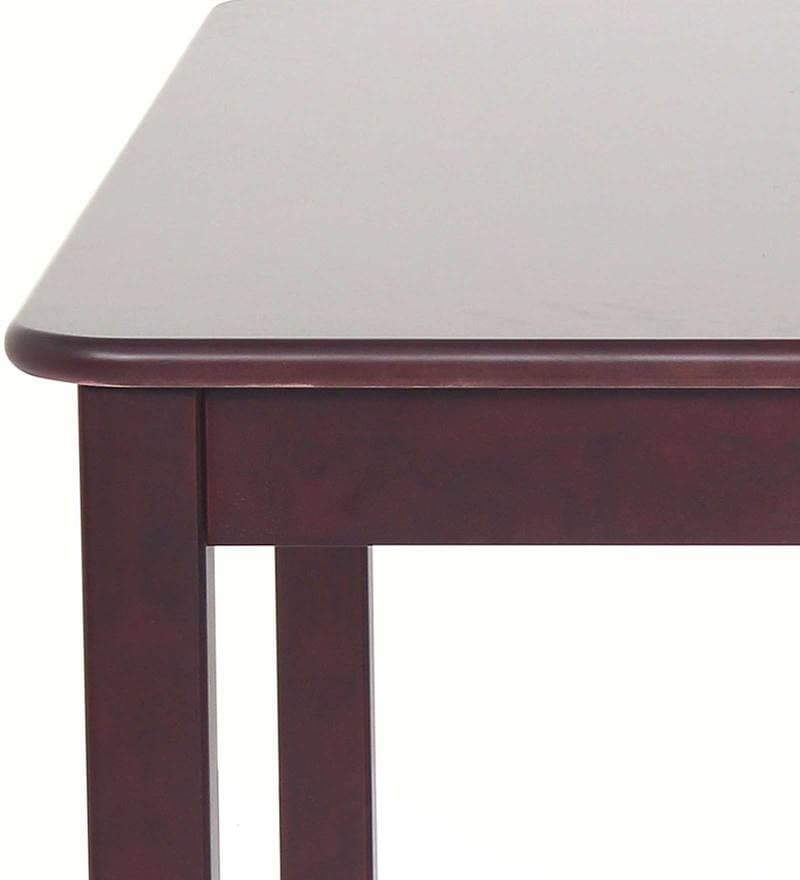 Buy Phoenix Four Seater Dining Table In Semi Glossy