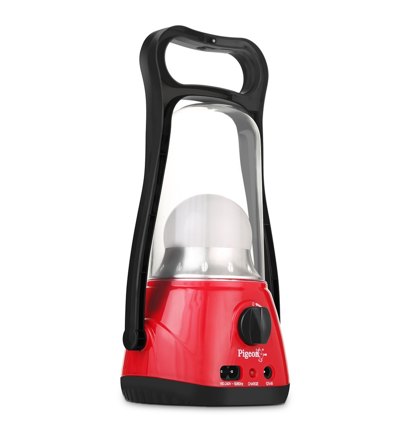 Pigeon 7-Watt Red Emergency Light (Model: 12136)