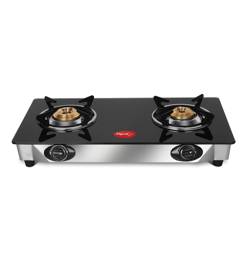 Pigeon Favorite 2-Burner Glass Cooktop