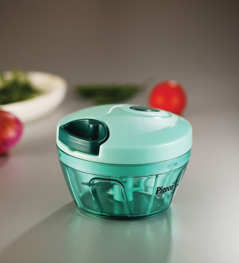 Pigeon Green ABS Plastic Handy Mini Chopper