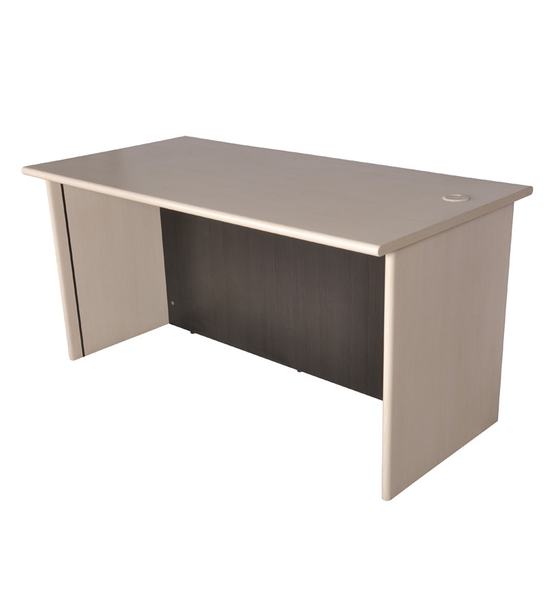 Pine Crest Grand Office Table X Feet Supported With Hettich - 4 feet office table