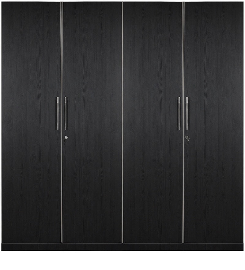 Buy Royal 4 Door Wardrobe With Hettich And Hafele Fitting