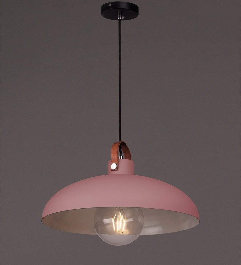 Pink Iron Pendant by Voylite