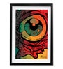 Pickypomp Paper 8 x 12 Inch Artistic Eye Framed Wall  Digital Art Print