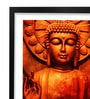 Pickypomp Paper 8 x 12 Inch Lord Buddha Framed Wall Poster