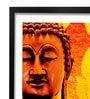 Pickypomp Paper 8 x 12 Inch Lord Buddha Incomparable Framed Wall Poster
