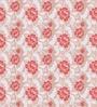 Presto Pink Poly Cotton Floral Window Blind