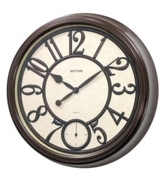wall clock online buy wall clocks in india best prices designs pepperfry. Black Bedroom Furniture Sets. Home Design Ideas