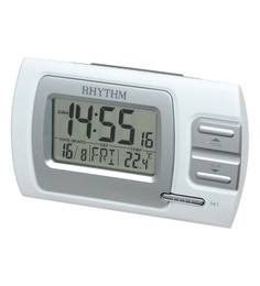 Plastic 4.7 X 1.8 X 2.9 Inch Lcd Clock Beep 7 Languages Of Weekdays Display Selectable Clock