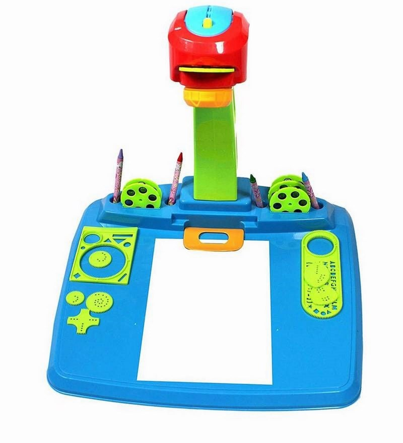 Projector Lamp Desk in Blue Colour by Planet of Toys