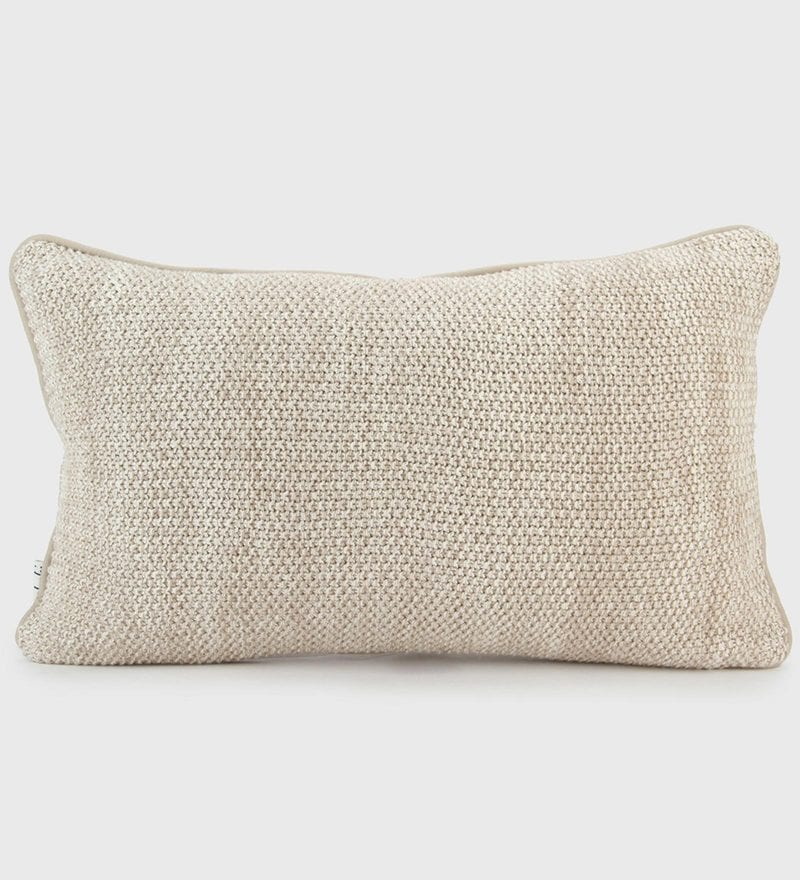 Cotton Knitted Cushion Cover by Pluchi