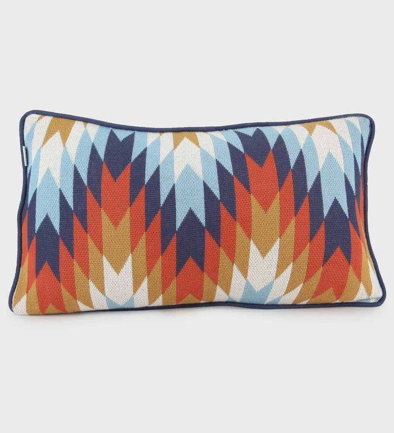 Kaleidoscope Rectangle Cushion by Pluchi