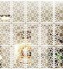 Planet Decor White Acrylic Circles Room Divider
