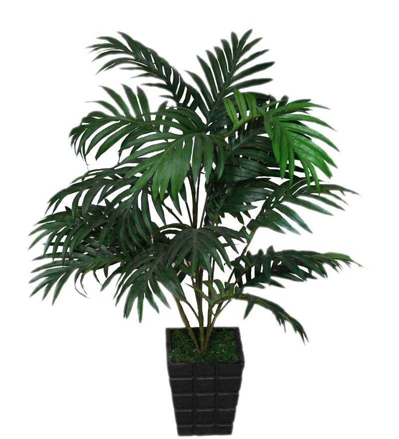 Green Polyester Areca Palm Artificial Plant by Pollination