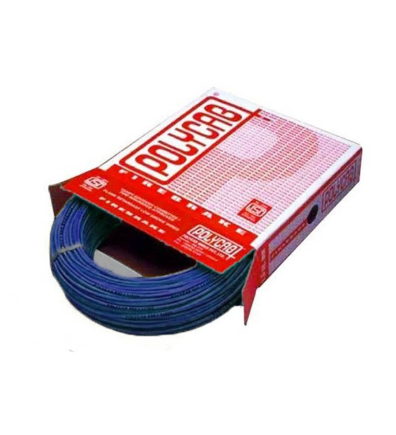 Polycab Industrial Blue 2.5 Sq.mm (90 m) Multistrand Wire