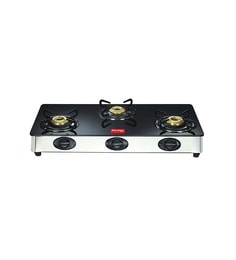 Prestige GT03L 3-burner Glass Cooktop