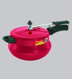 Prestige Nakshatra Plus Flame Red Pressure Cooker ,5000 ML