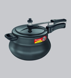 Prestige Nakshatra Plus Hard Anodised Aluminium Pressure Cooker, 6500 ML