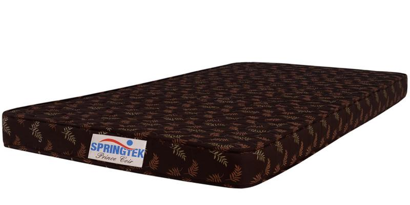 Prince Queen Size (78x60) 4 Inches Thick Coir Queen Mattress by Springtek Ortho Coir