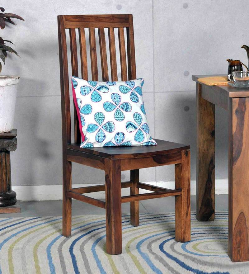 Presque Dining Chair in Provincial Teak Finish by Woodsworth