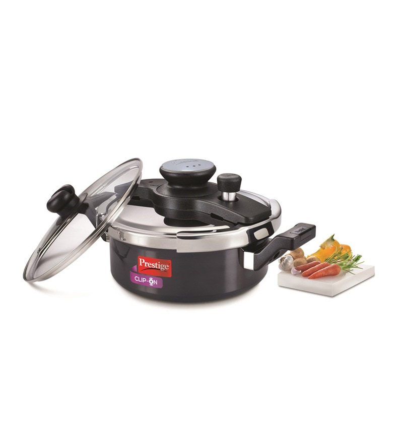 Prestige Clip-On Hard Anodized 3 L Pressure Cooker