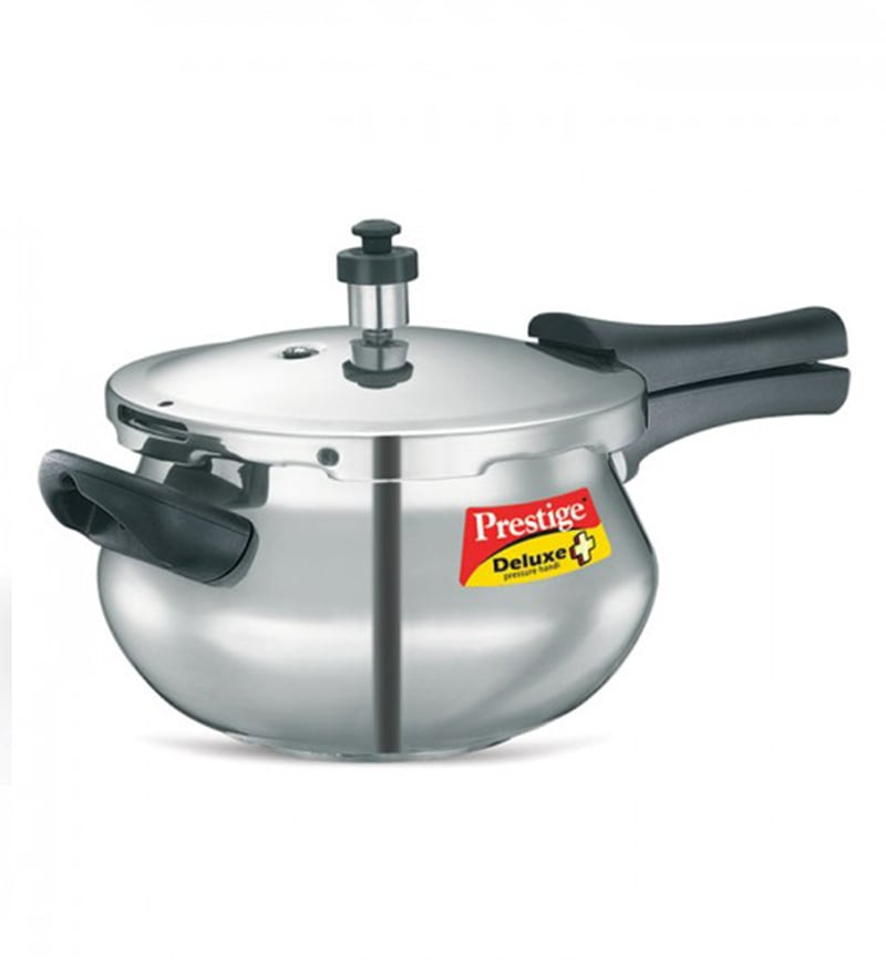 Prestige Delux Plus Hard Anodized 3.5L Polished Handi Pressure Cooker