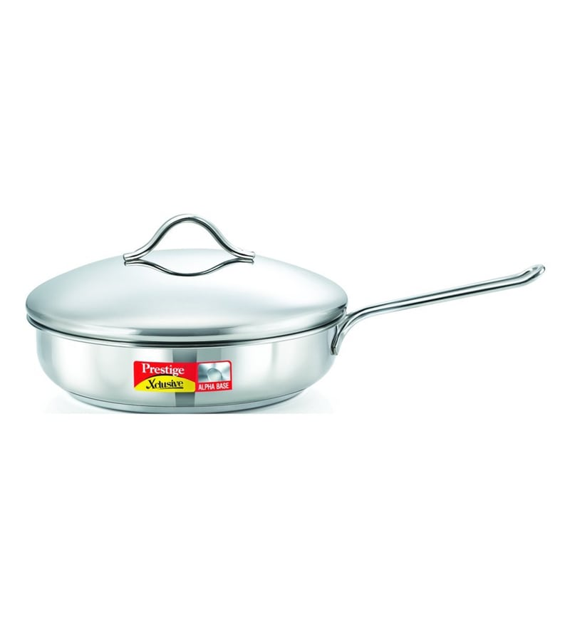 Exclusive Stainless Steel 2 L Fry Pan by Prestige