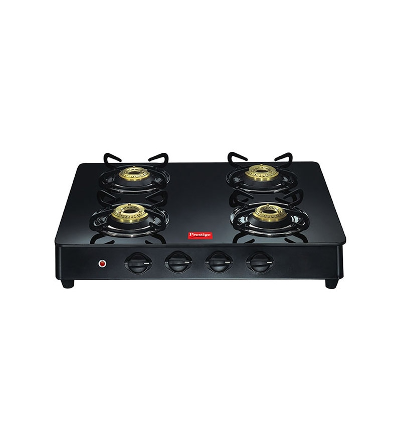 Prestige GT04 Auto Ignition 4-burner Glass Cooktop