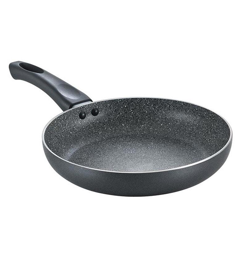 Omega Deluxe Granite Aluminum 9 Inch Fry Pan by Prestige