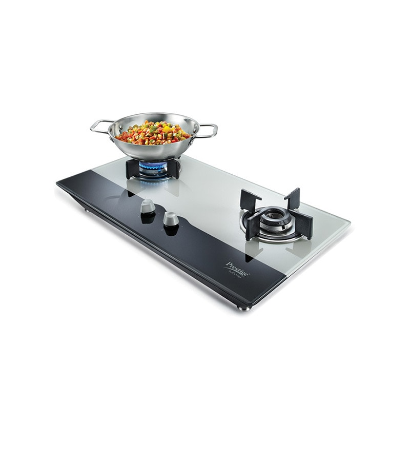 Prestige PHTS02 2-burner Auto Ignition Hob(Schott Glass)