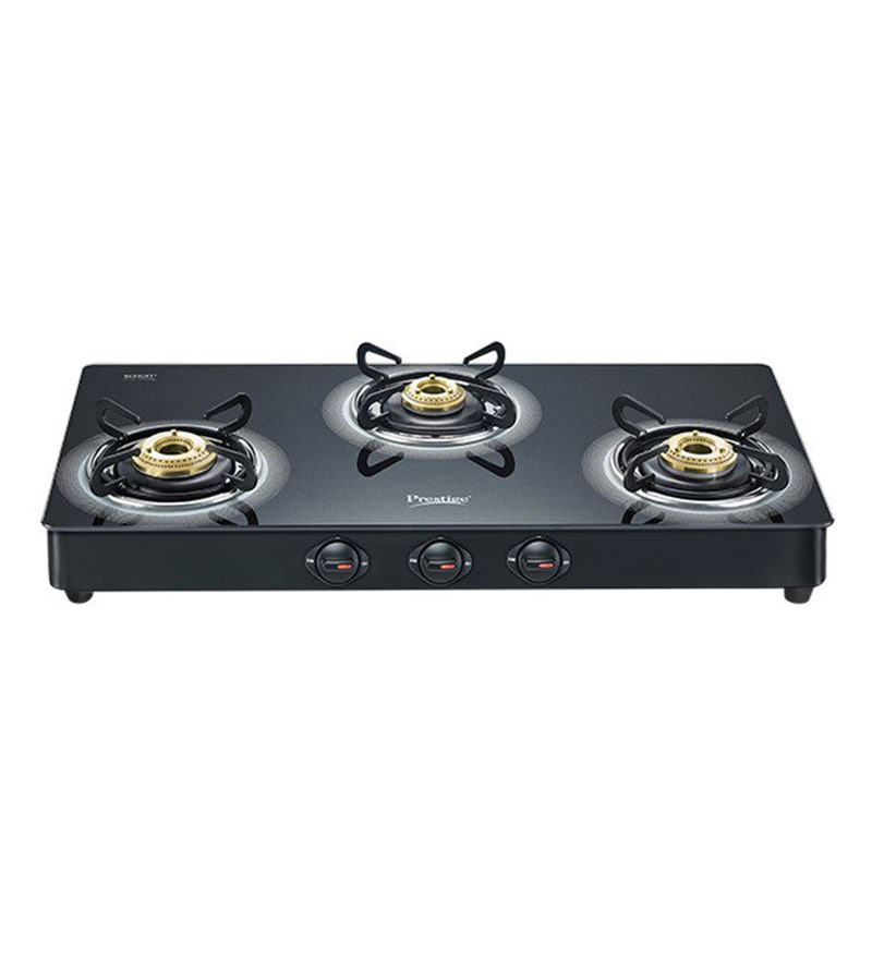 Prestige Royal Plus GT03L 3 Burner Glass Cooktop