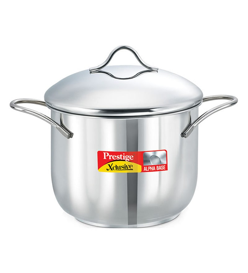 Xclusive Stainless Steel 2 L Deep Pot by Prestige