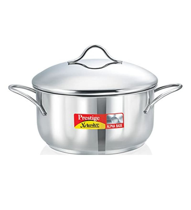 Prestige Xcusive Stainless Steel 1.5 L Casserole with Lid