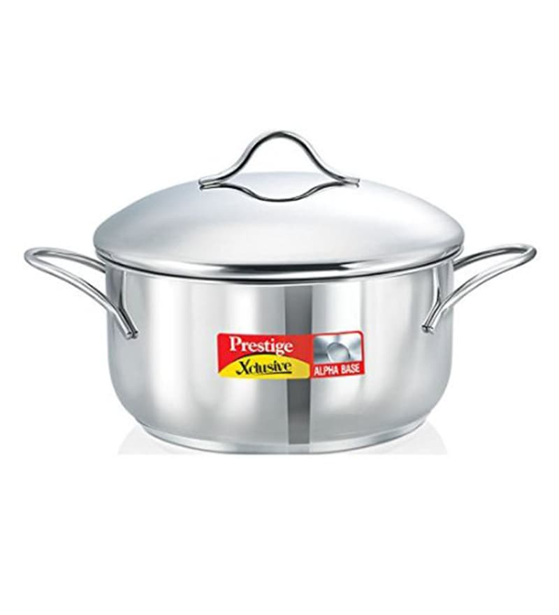 Prestige Xcusive Stainless Steel 1 L Casserole with Lid