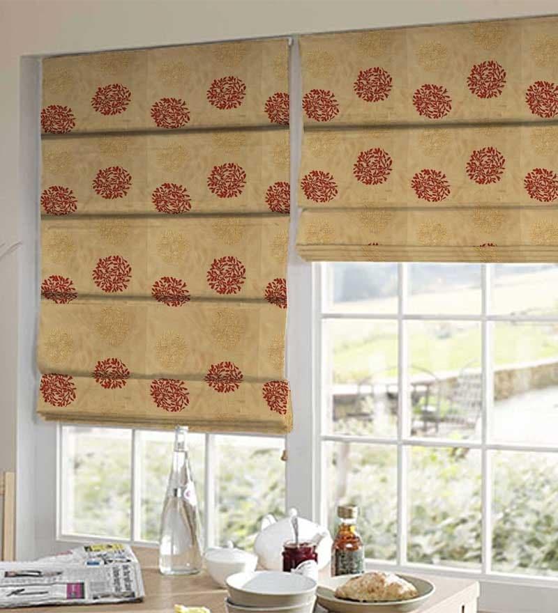 Golden Polyester Window Blind by Presto