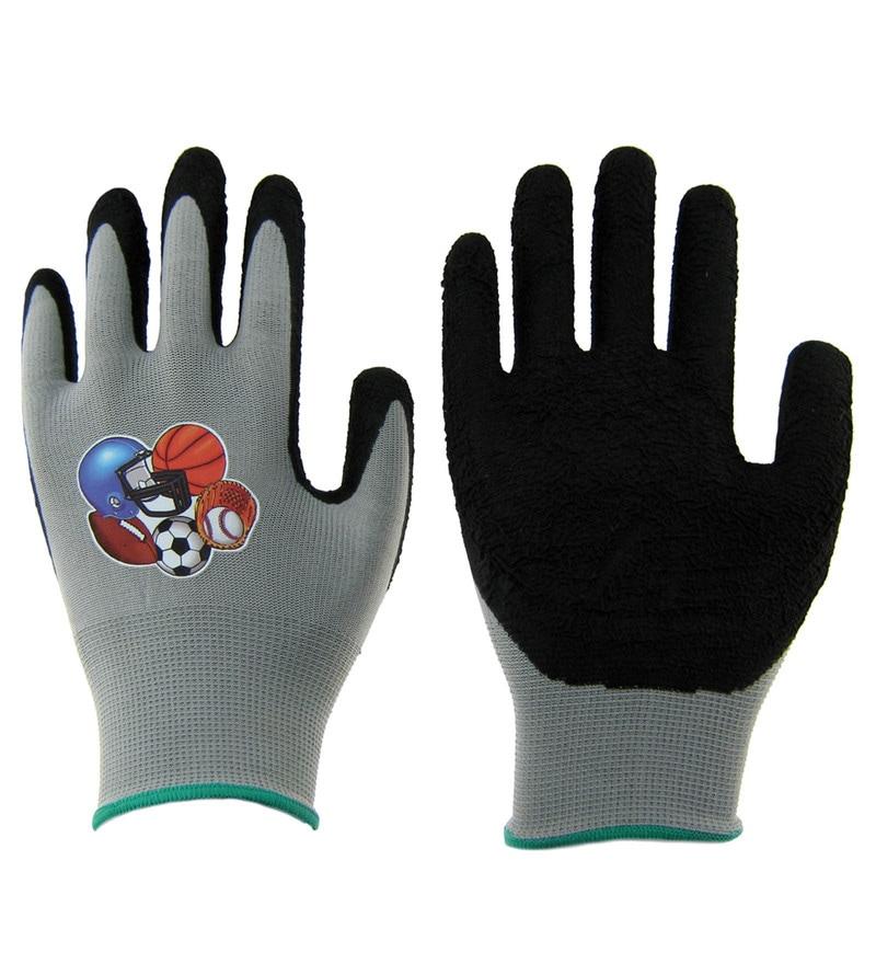 Primeway Multipurpose Black Large Gloves - Set of 2