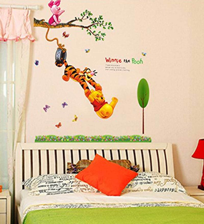 Winnie The Pooh Wall Sticker Part - 29: Click To Zoom In/Out