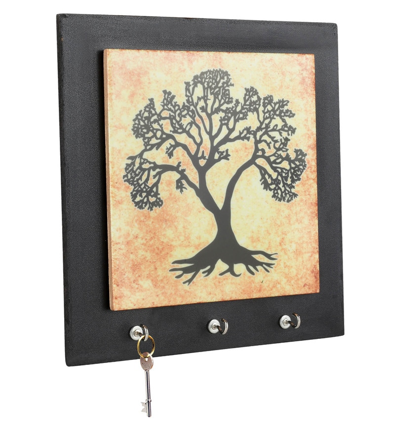 Printed Tree Ceramic Key Holder by Gifts & Souvenir