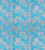 Aqua Polyester Abstract Blind by Presto