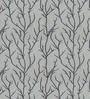 Black Polyester Floral Window Blind by Presto